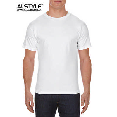 Alstyle Classic Fit Tee White